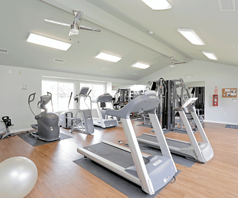 Fitness Weight Room, Knoxville Pointe Apartments