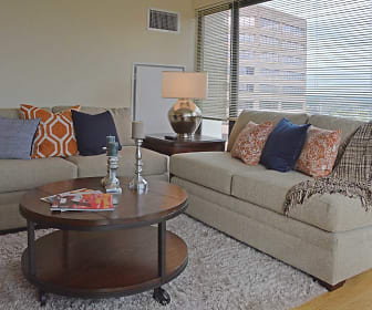 Living Room, Spectra Boutique Downtown Apartments