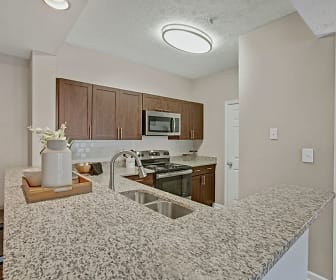 Kitchen, Avia At North Springs Apartment Homes