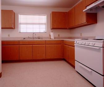 Kitchen, Echols Place Apartments