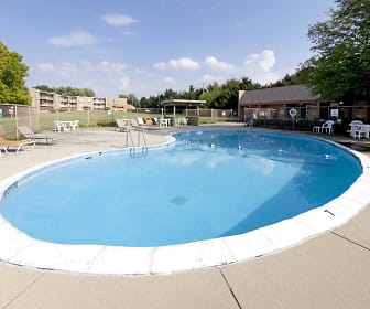 Pool, Sherry Apartments