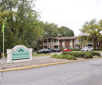 Community Signage, Pangea Cedars Apartments