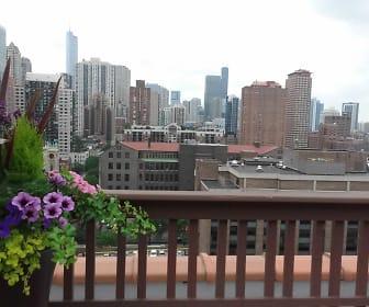 Dearborn Plaza Apartments, St Ignatius College Prep, Chicago, IL