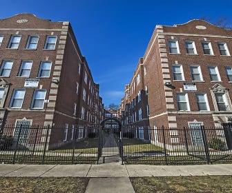 Building, 310 N. Menard Avenue