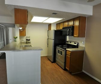 Kitchen, Timberline Condominiums