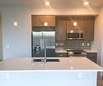 Kitchen, Z Street Lofts