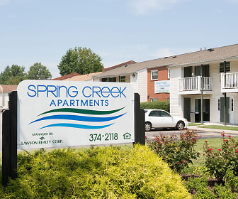 view of community / neighborhood sign, Spring Creek Apartments
