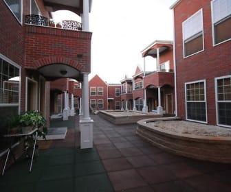 Behrends Court, Marist College, NY