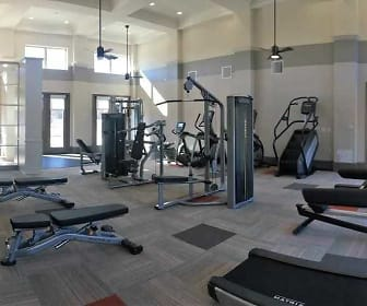 Fitness Weight Room, Manchac Lake Apartments