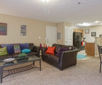 Living Room, Pointe at SIU