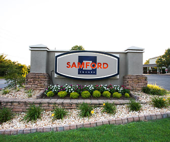 view of community / neighborhood sign, Samford Square