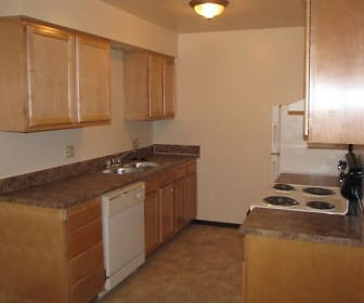 Kitchen, Ravenswood Apartments