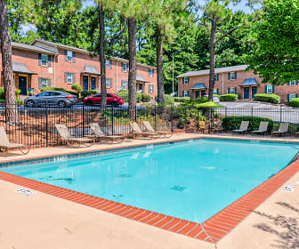 Pool, Upland Townhomes