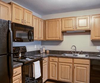 Kitchen, Cityscape Apartments