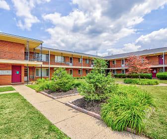 Village Square, Mumford High School, Detroit, MI