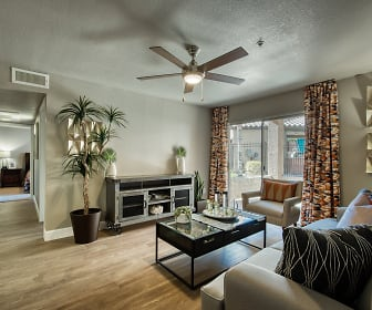 Living Room, Allure at Tempe Apartment Homes