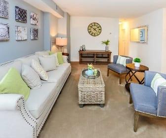 Living Room, Main Street Apartment Homes