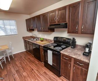 Kitchen, Cherry Lane Apartments