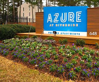 Community Signage, Azure at Riverside