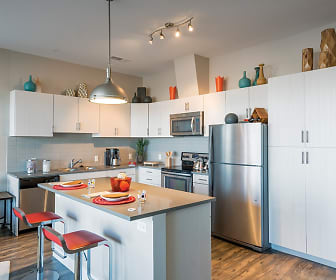 1000 South Broadway Apartments Model Kitchen, 1000 S Broadway Apartments