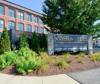 Slater Cotton Mill, Cumberland, RI