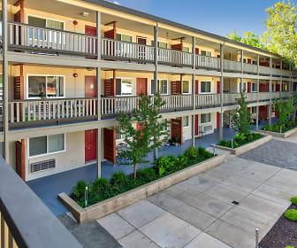 Courtyard, Pacific Garden