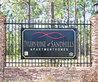 Community Signage, Tyler's Ridge at Sandhills