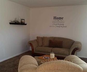 Living Room, Cambridge Townhomes