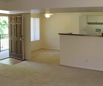 Living Room, Oak Park Apartment Homes