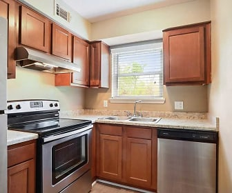 Kitchen, Avalon Apartments