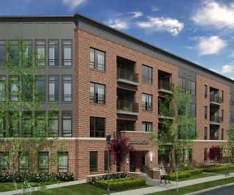Building, Apartments at the Yard: Dorchester West