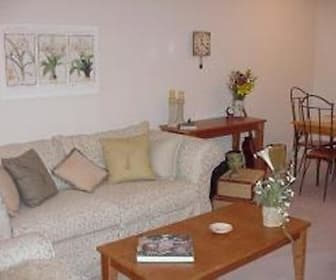 Interior, Shore Acres on the Monon Apartments