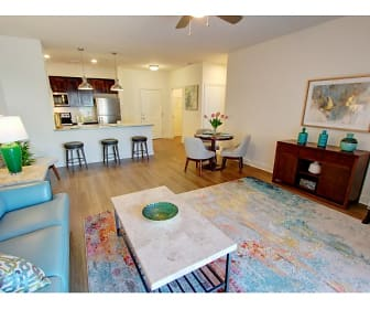 Living Room, Carlton Hollow Apartments 55+