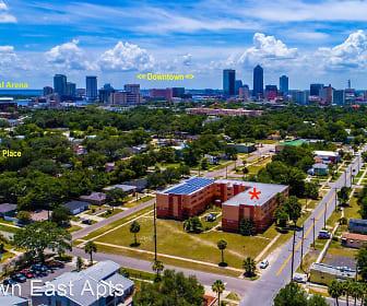 Downtown East Apts., Downtown, Jacksonville, FL