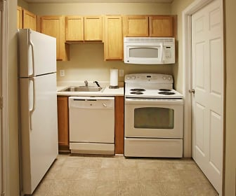 Kitchen, Campus East Student Housing