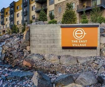Community Signage, Green Leaf East Village