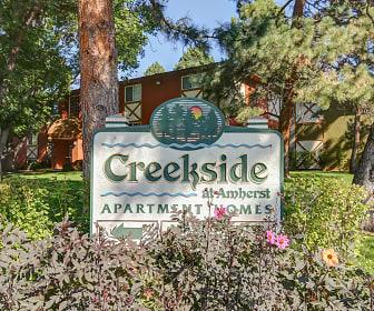 Community Signage, Creekside at Amherst