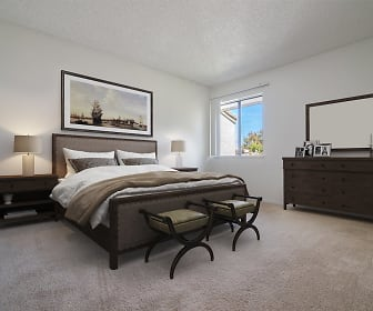 Bedroom, Costa Mesa Family Village