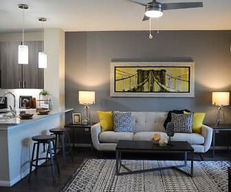 Living Room, The Abbey at Sonterra