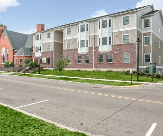 Building, Allegan Senior Residences