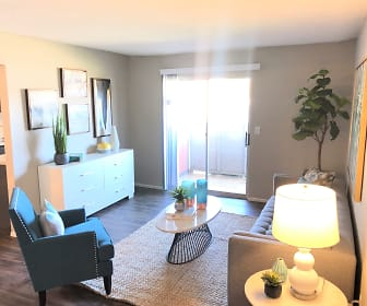 Living Room, The Residences at Northgate