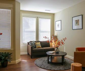 Living Room, The Grove at Stapleton