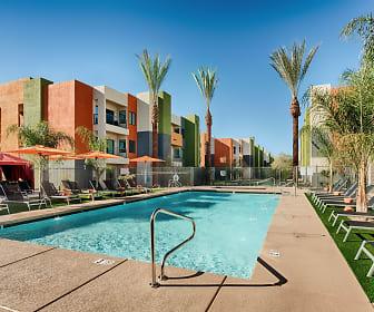 Pool, Seven Apartments