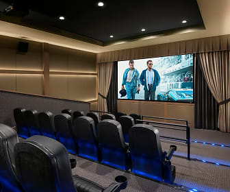 view of home theater, The Flin