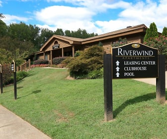 Community Signage, Riverwind Apartment Homes