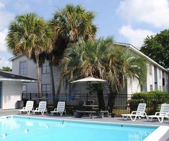 Pool, Tillman Park Apartments