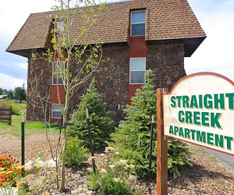 Community Signage, Straight Creek Apartments
