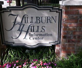 Community Signage, Hillburn Hills Apartments