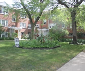 Kimball Apartments, North Park, Chicago, IL