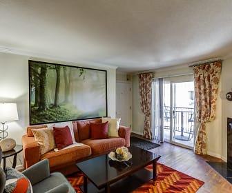 Living Room, Copper Flats Apartments